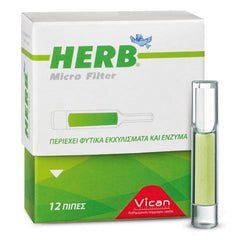 Herb Micro Filter 12 Τεμάχια-pharmacybay