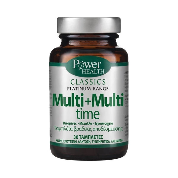 Power Health Multi+Multi Time 30 ταμπλέτες