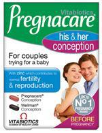 Vitabiotics Pregnacare Conception For Couples 60 Tablets-pharmacybay