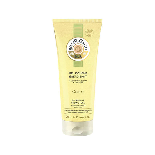 Roger & Gallet Cedrat Energising Shower Gel With Citron Extract And Aloe Vera 200mL Cedrat Αρωματικό Shower Gel - Για εκείνη, για εκείνον.