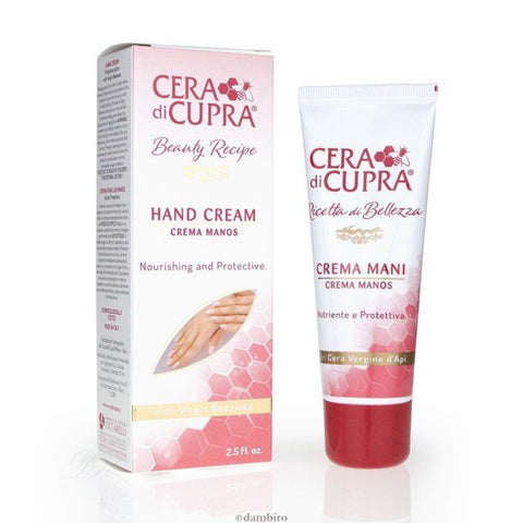 Cera Di Cupra Hand Cream With Virgin Beewax 75ml