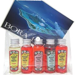 Tiki Tahiti Monoi Tahiti Bronzants Travel Size 5x30ml