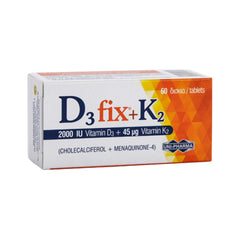 Uni-Pharma D3 Fix 2000iu + K2 45mg 60 κάψουλες
