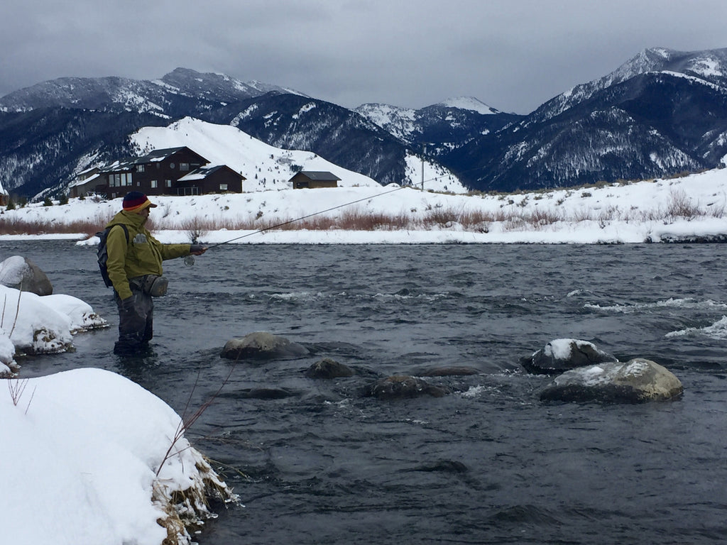MADISON RIVER FISHING REPORT - 01/12/2017