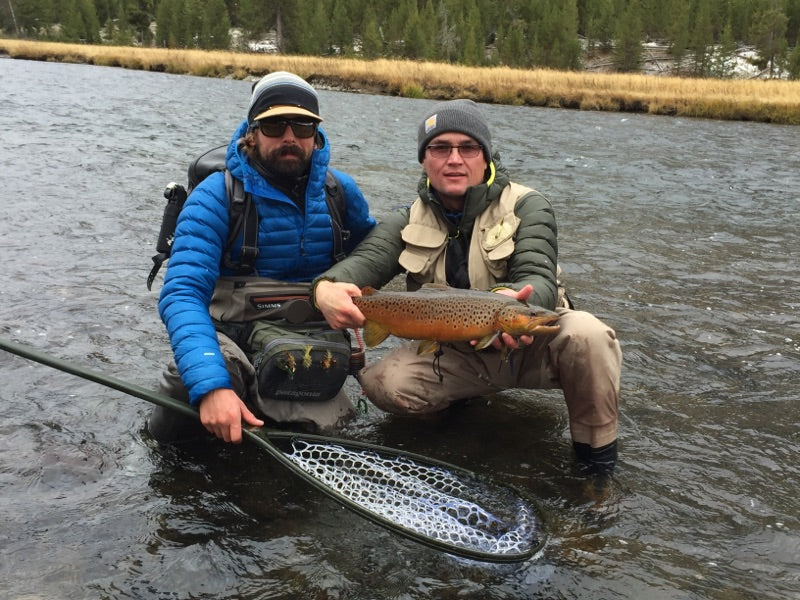Madison River Outfitters Fishing Report - 10/30/2017