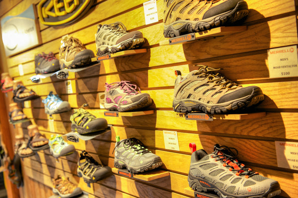 Fly Shop Shoe Selection