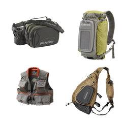 Fly Fishing Bags and Vests