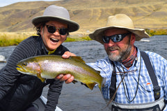 Instructional Dry Fly Guide Trip West Yellowstone Montana
