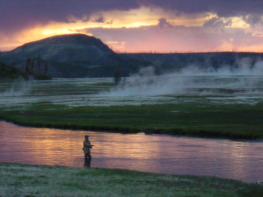 Fly fishing seasons of the yellowstone area madison for Yellowstone national park fishing