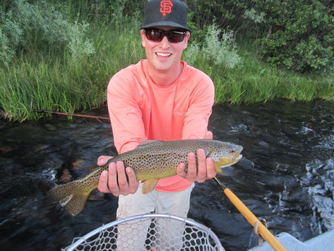 Madison River Outfitters Guide Garrett Cook
