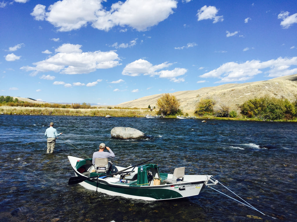Guide Float trip on the Madison River
