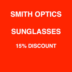 Smith Optics Sunglasses 15% discount
