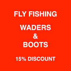 Holiday Sale on Fly Fishing Waders and Boots