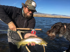 Instructional Trout Spey Guide Trips Madison River Montana