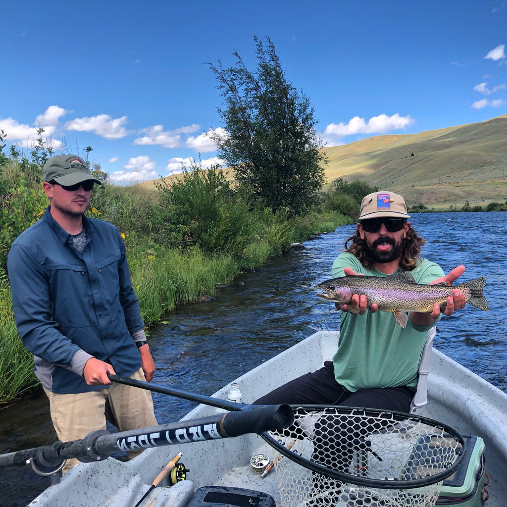 Professional Fly Fishing Guide Jake Schilling