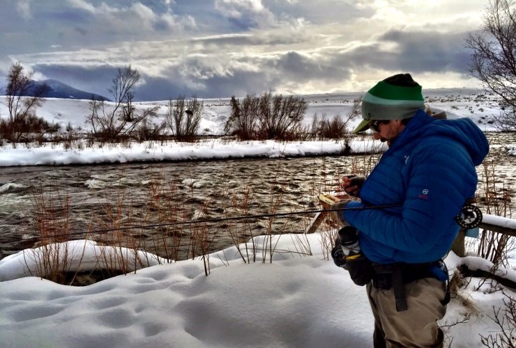 Winter Fly Fishing on the Madison River - Guide Jake Schilling