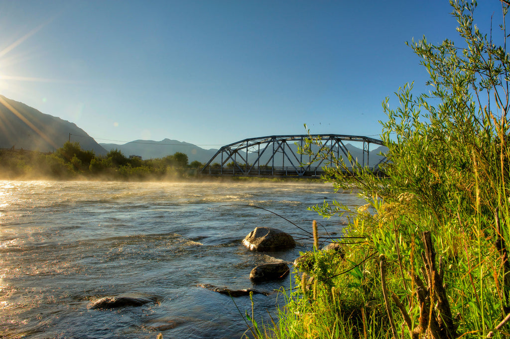 Madison River Montana Three Dollar Bridge