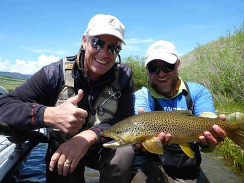 Mickey Wooten Fly Fishing Guide for Madison River Outfitters