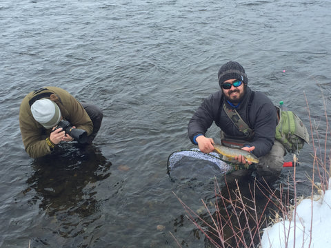 Winter Fly Fishing on the Madison River