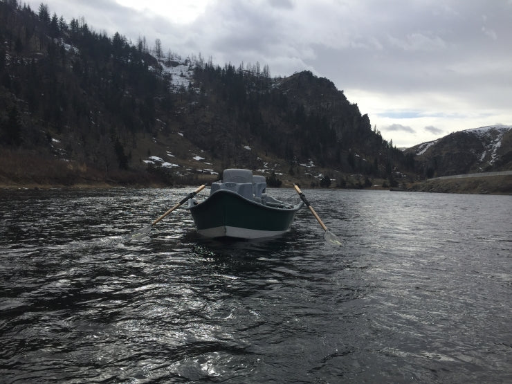Montana Fly Fishing Drift Boat on the Madison River