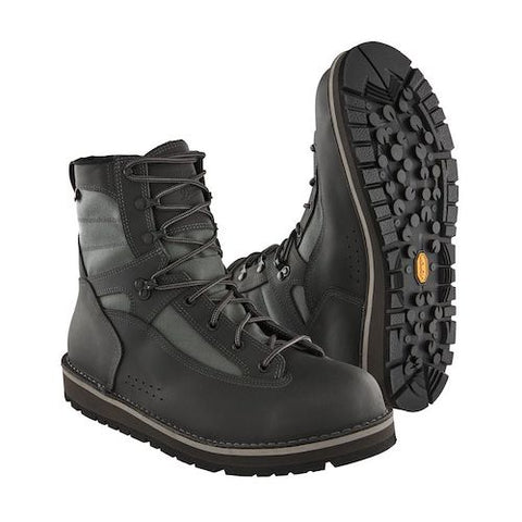 Foot Tractor Wading Boots-Sticky Rubber