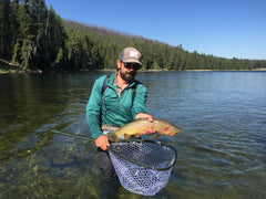 Professional Fly Fishing Guide Jake Schilling Madison River Outfitters
