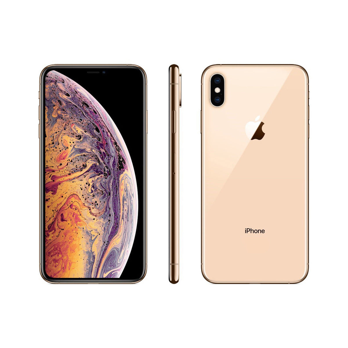 "Enjoy a gloriously crisp, detailed display with the iPhone Xs Max. Featuring an edge-to-edge display 6.5"" Super Retina OLED display, you'll stay focused on the task whether you're managing your work schedule or winding down with your favourite TV show on"