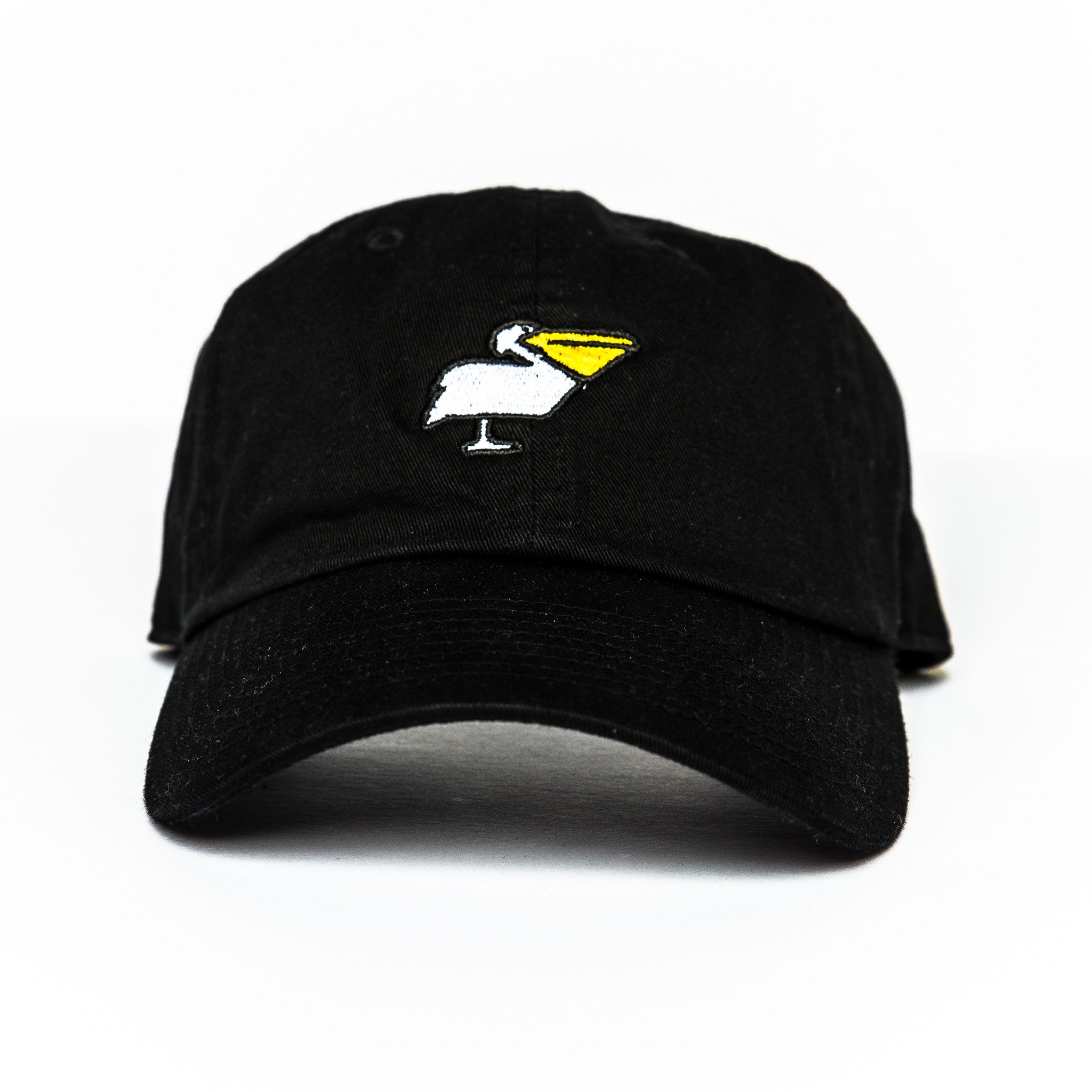 Pelican Dad Hat in Black