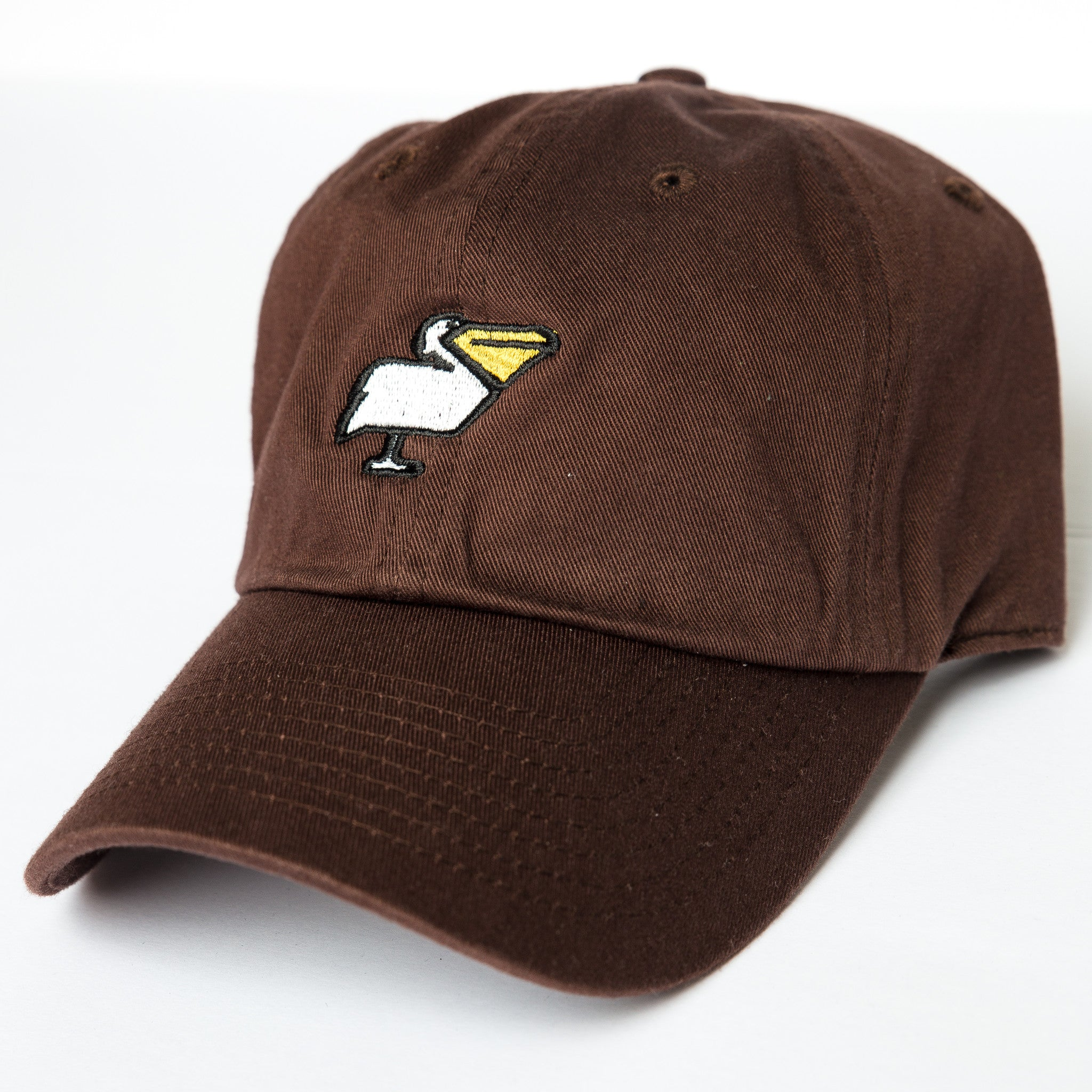 Pelican Dad Hat in Brown