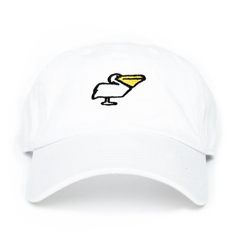 Pelican Dad Hat in White