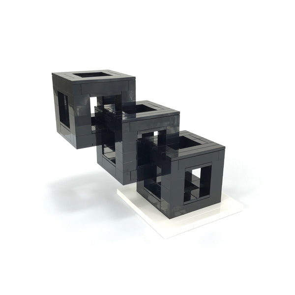 Interlocking Cubes - Black