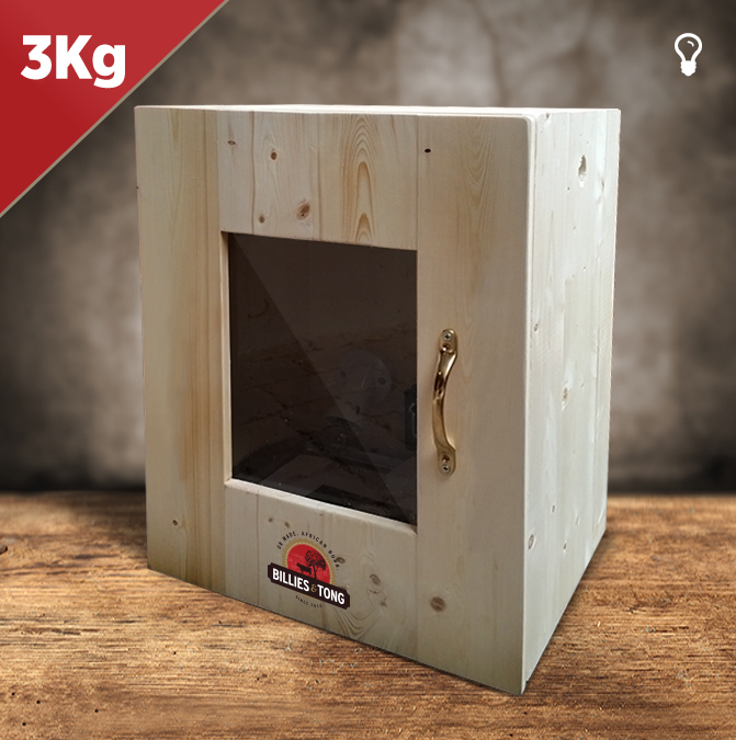 Biltong Box With Perspex Window 3kg