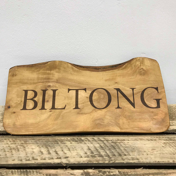 'Biltong' Chopping Board