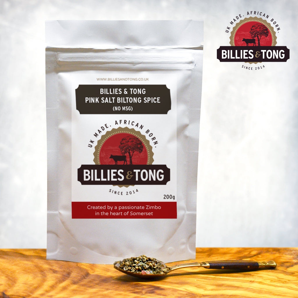 Billies and Tong Biltong Spice - No MSG