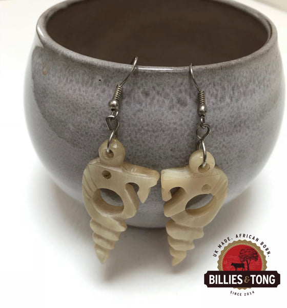 Ox Bone Earrings