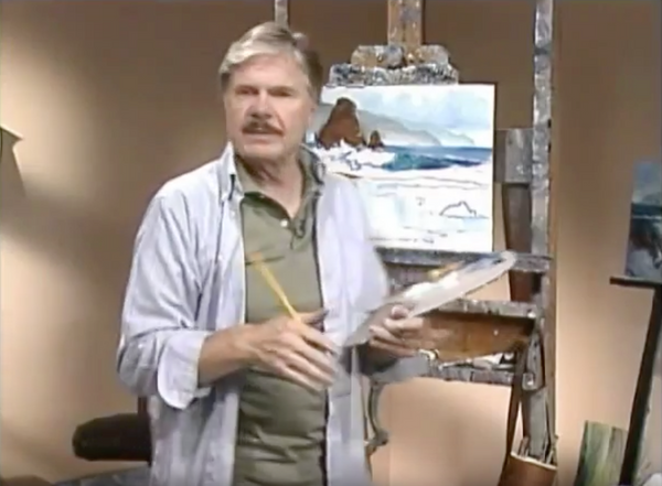 E John Robinson, master seascape paint instructor