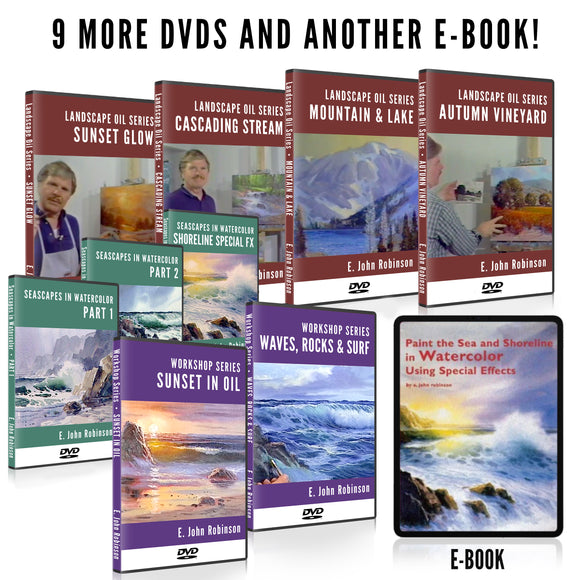 E John's COMPLETE Remaining Lesson Collection - DVD Set