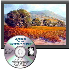 Image: Landscape Oil Series Autumn Vineyards DVD featuring E. John Robinson