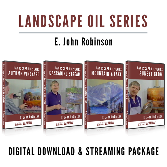 The Landscape Oil Series (4 Lessons) [Download & Streaming]