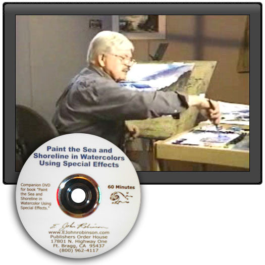 Paint the Sea and Shoreline in Watercolor Using Special Effects (DVD)