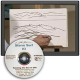 "Image: ""Painting the Sea in Oil - Storm Surf"" DVD by E. John Robinson"