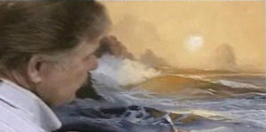 "Image: ""Painting the Sea in Oil - Twilight Mist"" (digital version) by E. John Robinson"