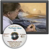 "Image: ""Painting the Sea in Oil - Twilight Mist"" DVD by E. John Robinson"