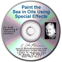 Paint the Sea in Oils Using Special Effects (Book-on-CD) - Save $5