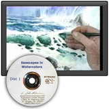 "Image: ""Seascapes in Watercolor, Disc 1"" DVD by E. John Robinson"