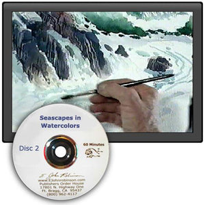"Image: ""Seascapes in Watercolor, Disc 2"" DVD by E. John Robinson"
