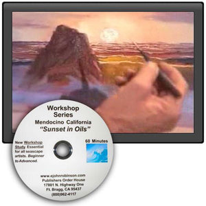 "Image: ""Workshop Series - Sunset in Oil"" DVD by E. John Robinson"