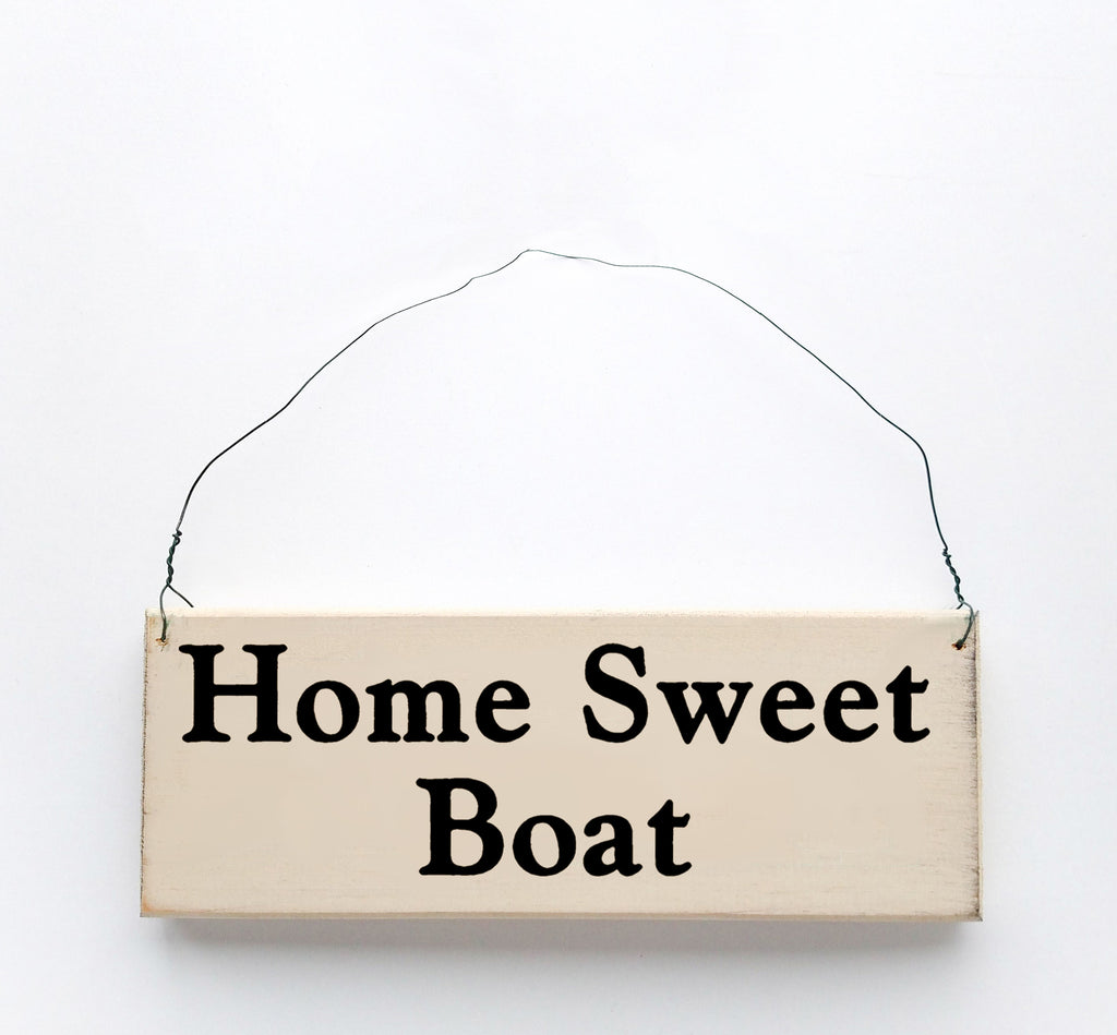 Home Sweet Boat