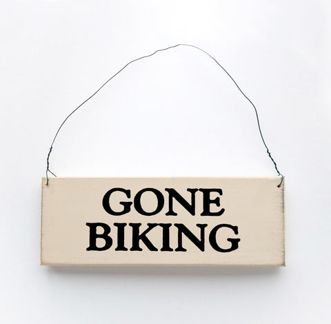 Gone Biking