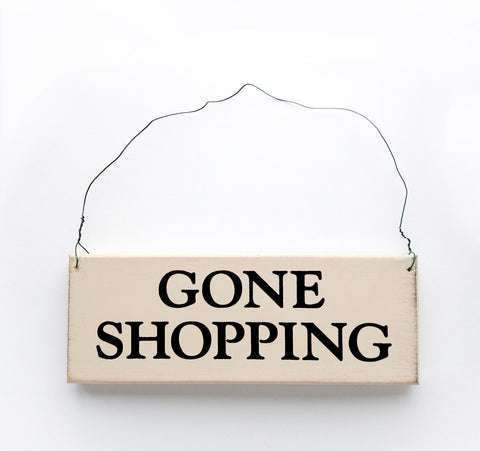 Gone Shopping